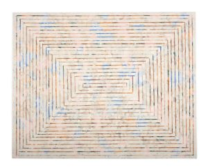 Untitled (concentric rectangle) - Matthew Mahler - 2018